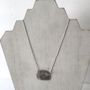 925 sterling silver temple necklace